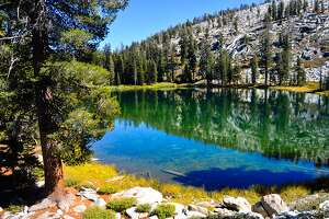 Kings Canyon's gorgeous high-elevation lakes are often good places to avoid the crowd.
