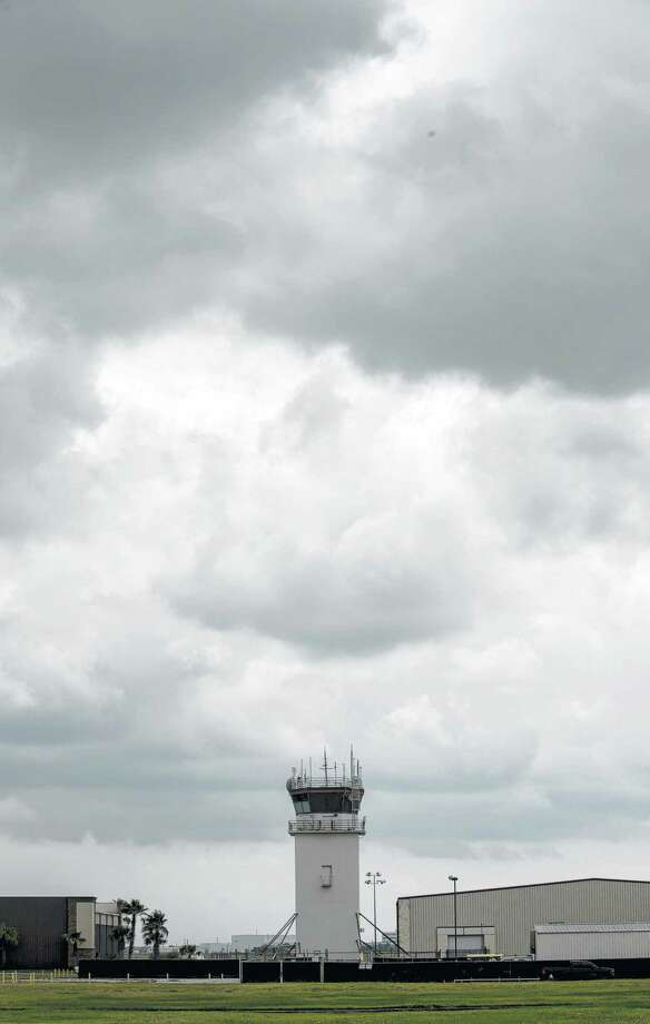The control tower at Ellington Airport, which is one of the facilities along a 14-mile portion of Texas 3 that is being studied for improvements to improve safety and traffic flow. Photo: Jon Shapley, Staff / Houston Chronicle