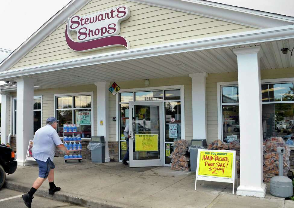 The Vly Road Stewart's Shop Thursday Sept. 6, 2018 in Colonie, NY. (John Carl D'Annibale/Times Union)