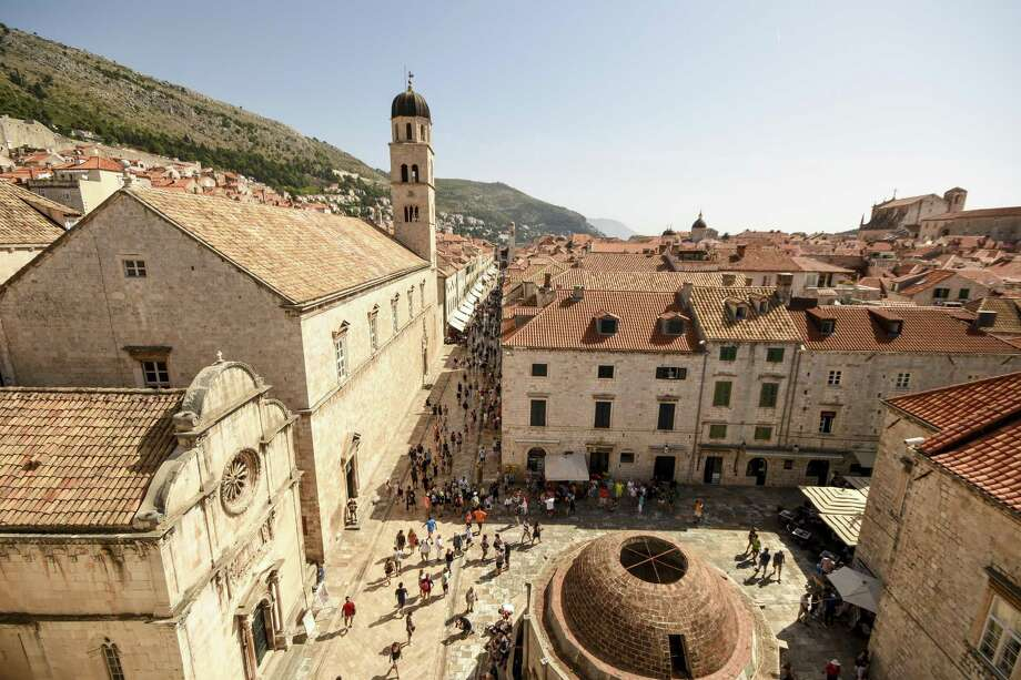 "The walled Adriatic city of Dubrovnik is now a chic shopping and dining destination, made more popular by its ""Game of Thrones"" association. Photo: Margo Pfeiff / Special To The Chronicle / ONLINE_YES"