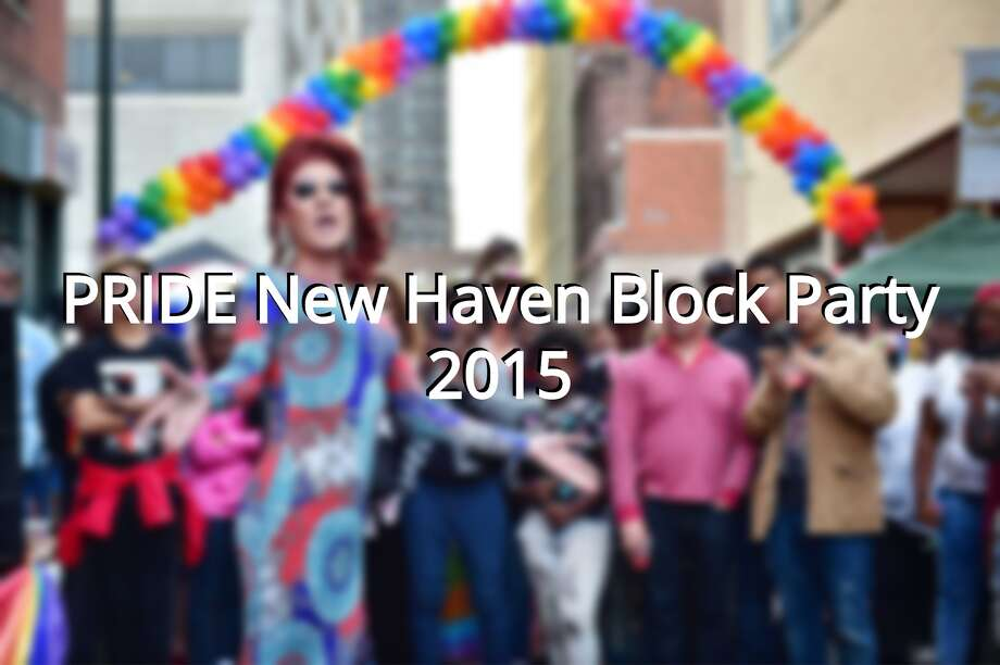 Photographic Images from the Pride New Haven Block Party sponsored by the New Haven Pride Center, Saturday, September 26, 2015, on Center Street in downtown New Haven. Photo: Catherine Avalone