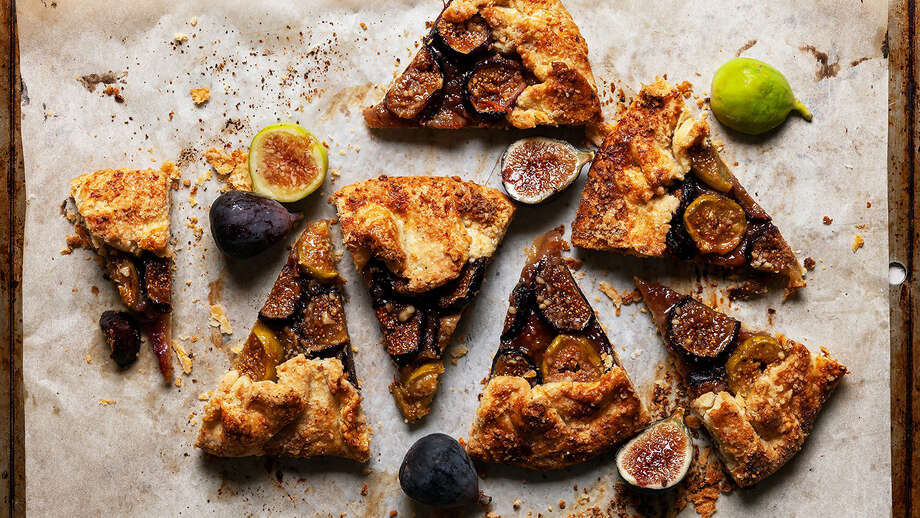 Good luck resisting this Honeyed Fig and Walnut Galette. Photo: Photo For The Washington Post By Goran Kosanovic. Food Styling For The Washington Post By Bonnie S. Benwick / Goran Kosanovic for The Washington Post