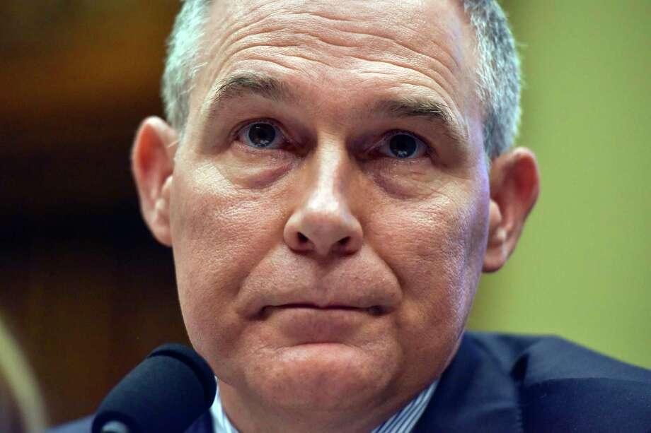 Scott Pruitt. Photo: Washington Post Photo By Jahi Chikwendiu / The Washington Post