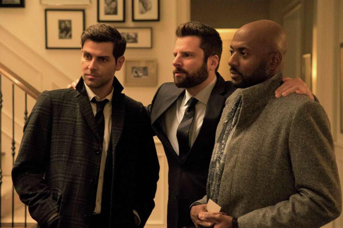 James Roday: Taft High School graduate Roday (center, with David Giuntoli and Romany Malco) plays Gary in