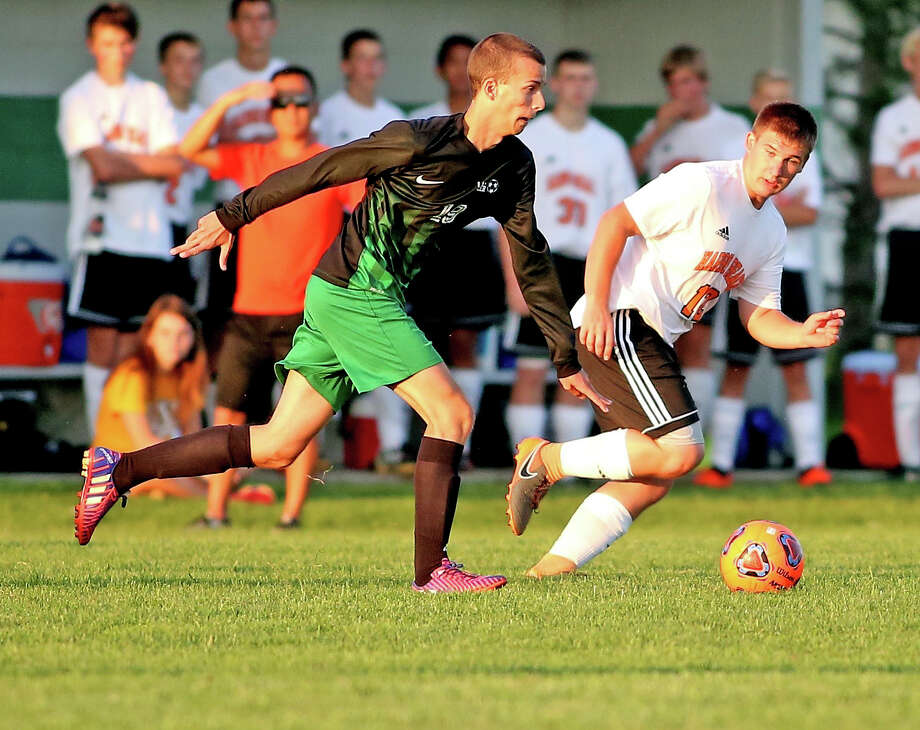 Harbor Beach at EPBP — Soccer Photo: Paul P. Adams/Huron Daily Tribune