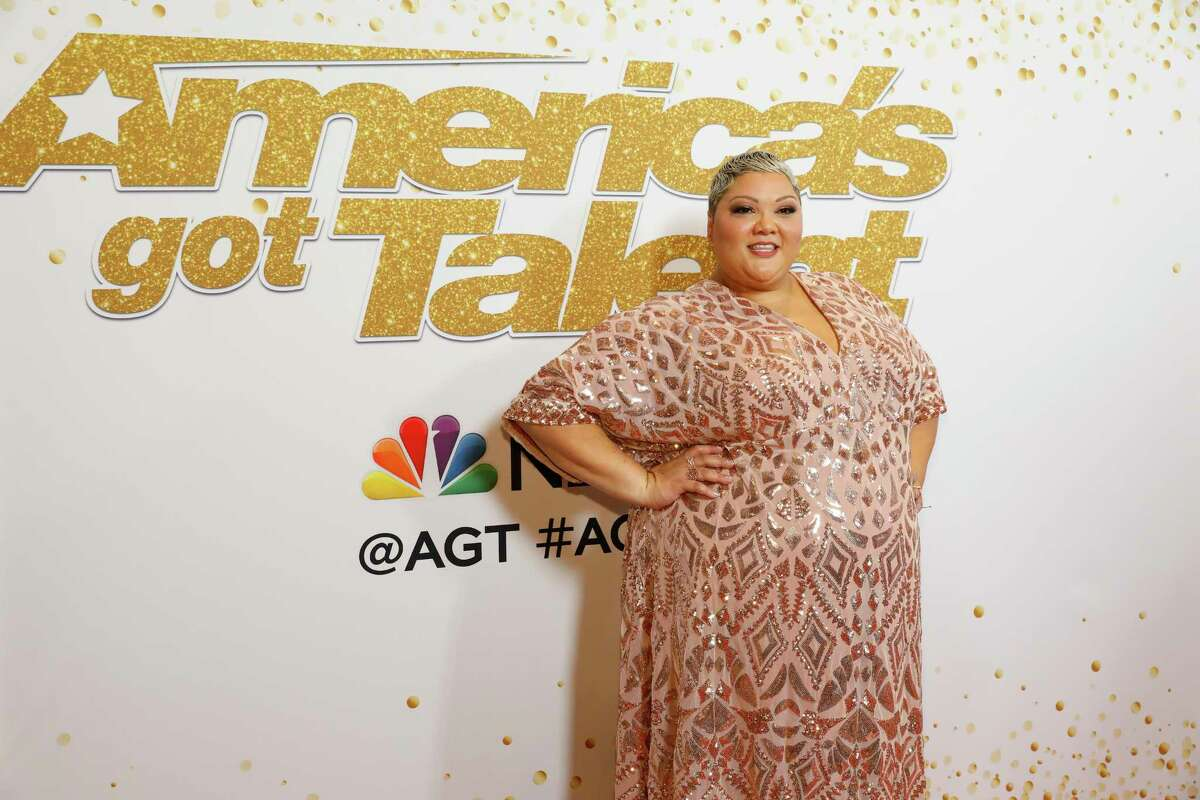 Houston singer Christina Wells was eliminated during the 'America's Got Talent' semifinal rounds.