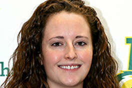 Midland College assistant volleyball coach Kristina Gafford