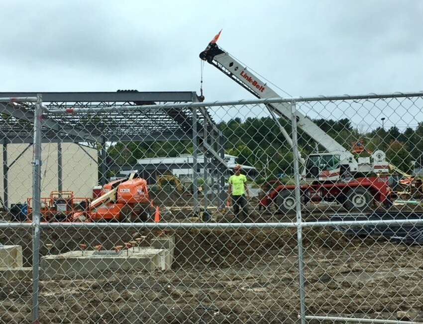 A new CoreLife Eatery is being built at Latham Farms in Colonie.
