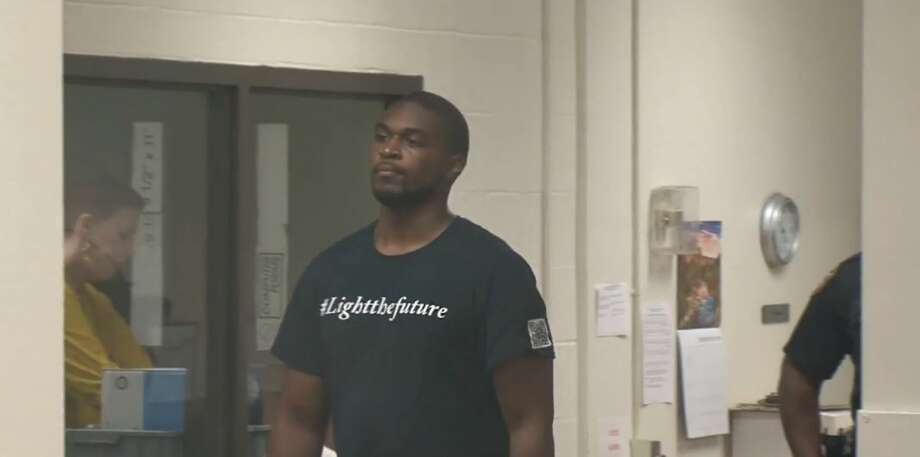 PHOTOS: First appearanceAlex Akpan appears in court on Thursday, Sept. 13, 2018. He has been charged with murder in the death of Irene Yemitan.