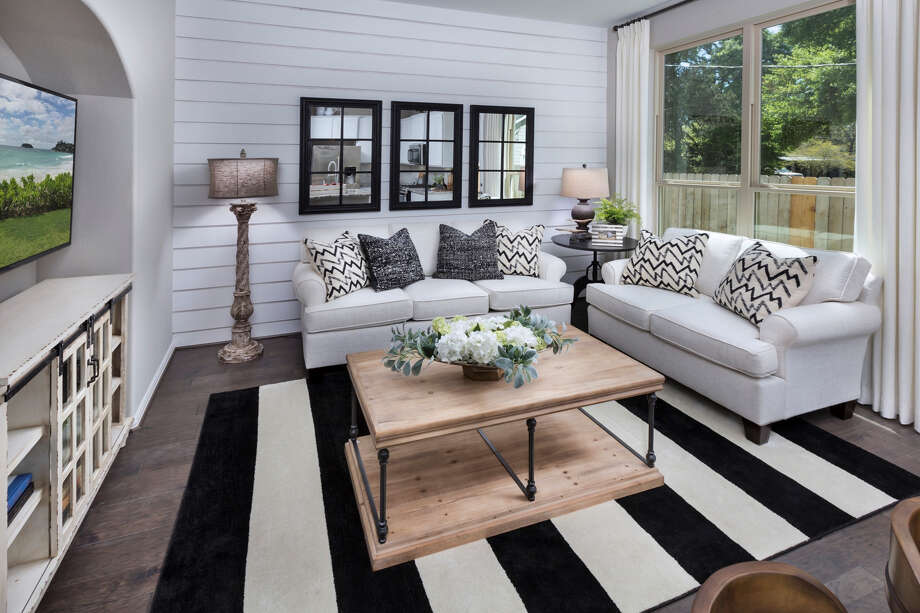 The interior of a townhome from Lennar's Urban Villas Collection. Photo: Lennar