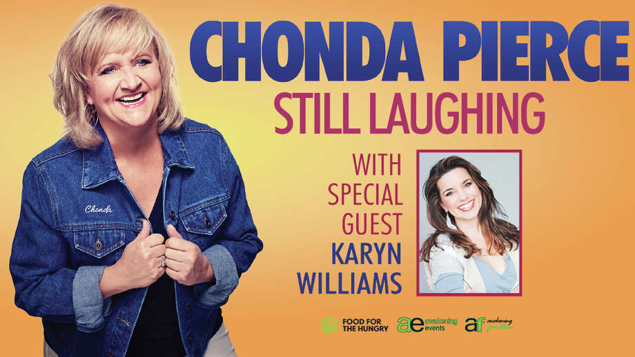 "Friday, Sept. 14: Comedian Chonda Pierce, or ""the country comic"" as Billboard Magazine dubbed her, is set for 7 p.m. at The Temple Theatre in Saginaw. Tickets. templetheatre.com Photo: Templetheatre.com"