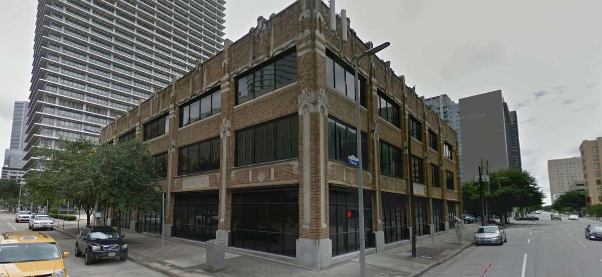 The former Houston Press building at 1621 Milam was demolished in 2018.