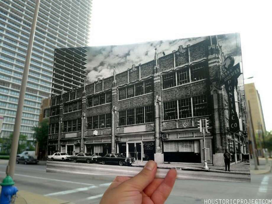 Former Houston Press staffer Abrahán Garza chronicled the history of the building was once Shelor Motor Company then Gillman Pontiac. Where the newsroom stood was once a showroom for cars. There is also a small parking garage inside. Photo: Abrahán Garza