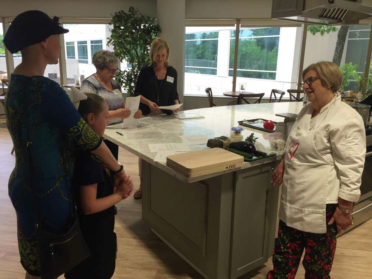 Catherine Gramss drops off her daughter Ashleigh at Memorial Hermann's Canopy