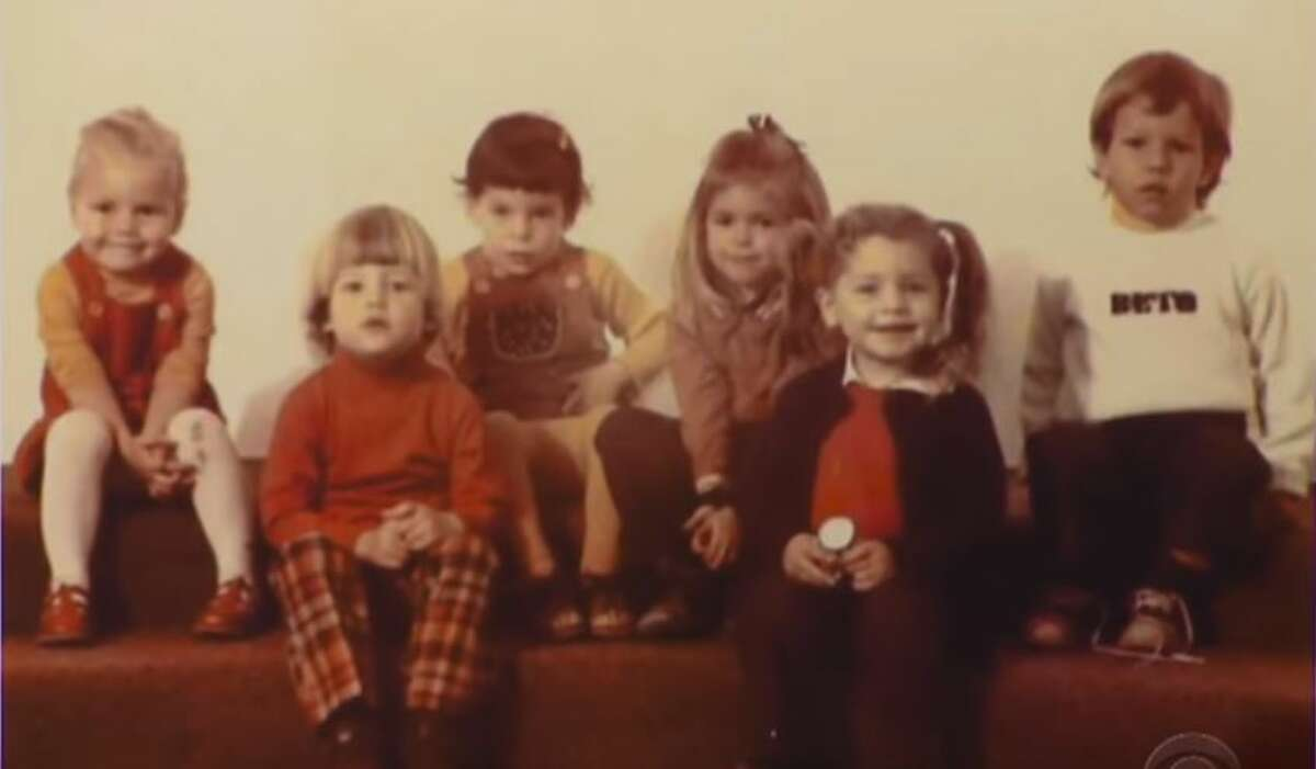 1970s O'Rourke, at right in this childhood photo, wears a sweater with the name Beto stitched on it. O'Rourke says his family has always used the Spanish nickname to differentiate him from his namesake grandfather.