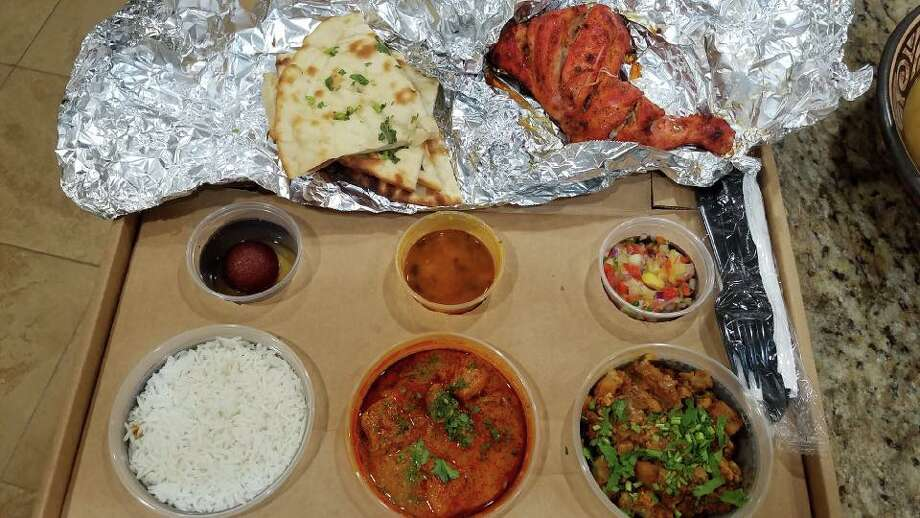PHOTOS: Bay Area restaurants with the best reviews  India in a Box opened July 16 in Pearland and offers customers a different 8-course authentic Indian meal  made in-house every day. Customers have raved over the unique concept online. >>>See photos of other highly praised Bay area restaurants... Photo: India In A Box/Henry John