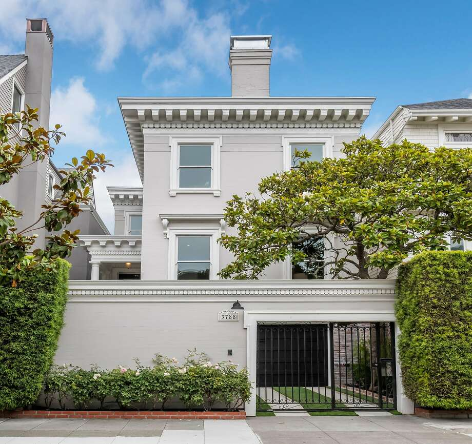 3788 Clay St. is a five-bedroom Colonial Revival in Presidio Heights available for $5.995 million. Photo: Olga Soboleva / Vanguard Properties