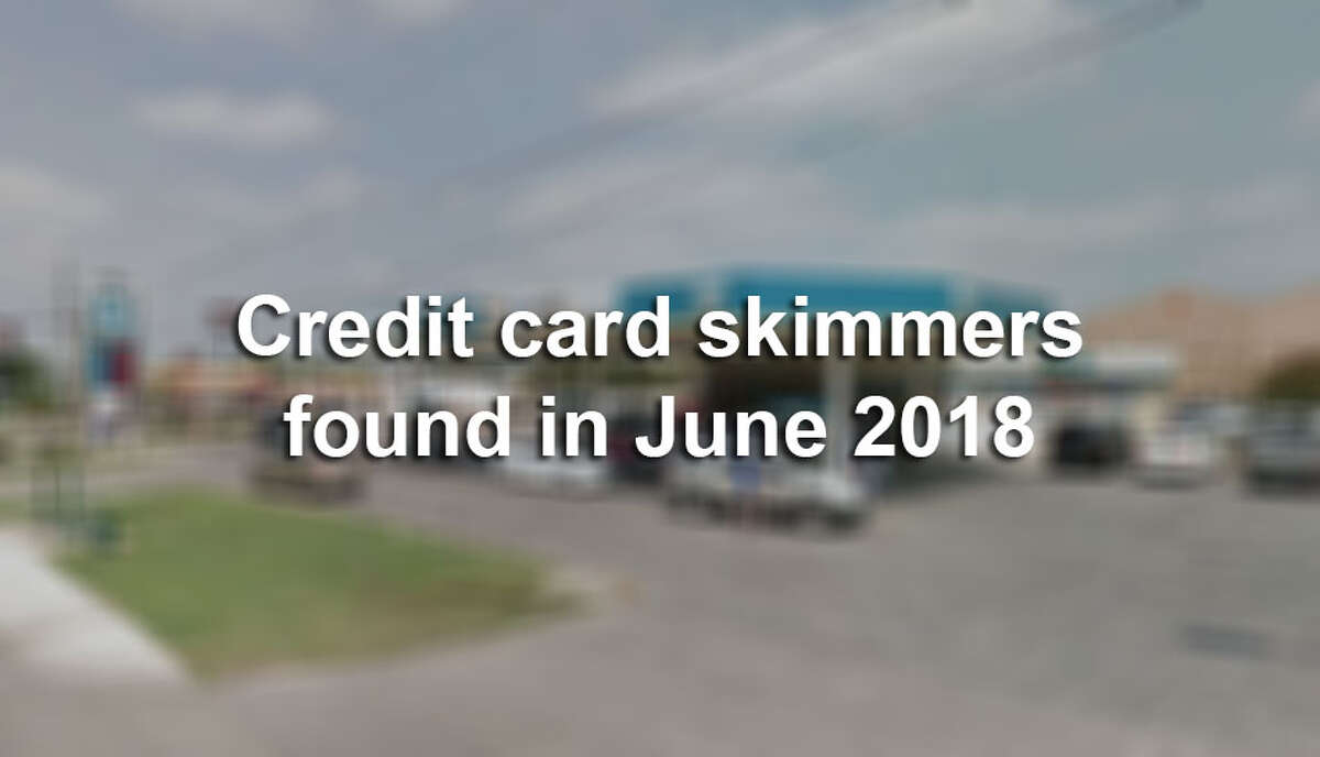 Credit card skimming devices where found at the following gas stations in June 2018, according to SAPD.