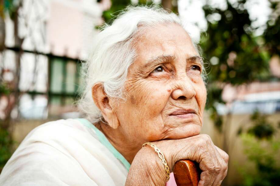 A grandmother is feeling isolated from her son and his family. Why are Grandparents so important in a family?  >>>>>>  Photo: VikramRaghuvanshi/Getty Images