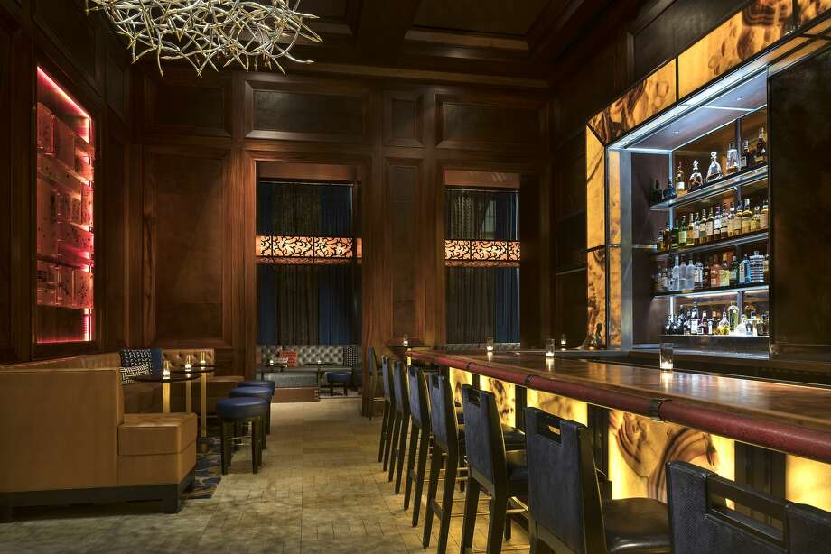 "The Dallas Ritz-Carlton's Rattlesnake Bar is known for a weekday happy hour with cheap drinks and ""two-bite"" lobster tacos. Photo: Ritz-Carlton Dallas"