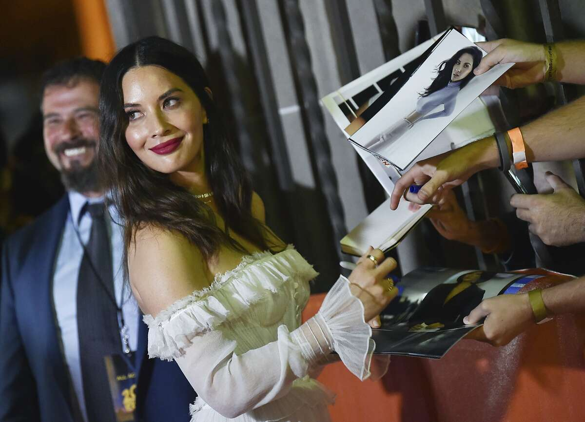 In this Sept. 6, 2018, file photo, actress Olivia Munn attends the premiere for