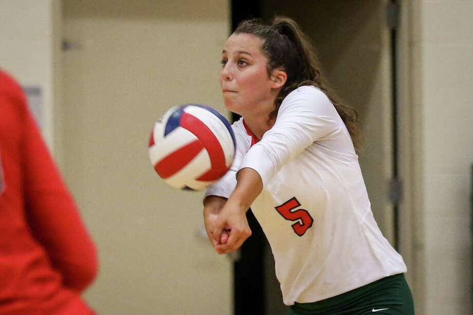 The Woodlands' Georgia Murphy (5) was named District 15-6A MVP. Photo: Michael Minasi, Staff Photographer / Houston Chronicle / © 2018 Houston Chronicle