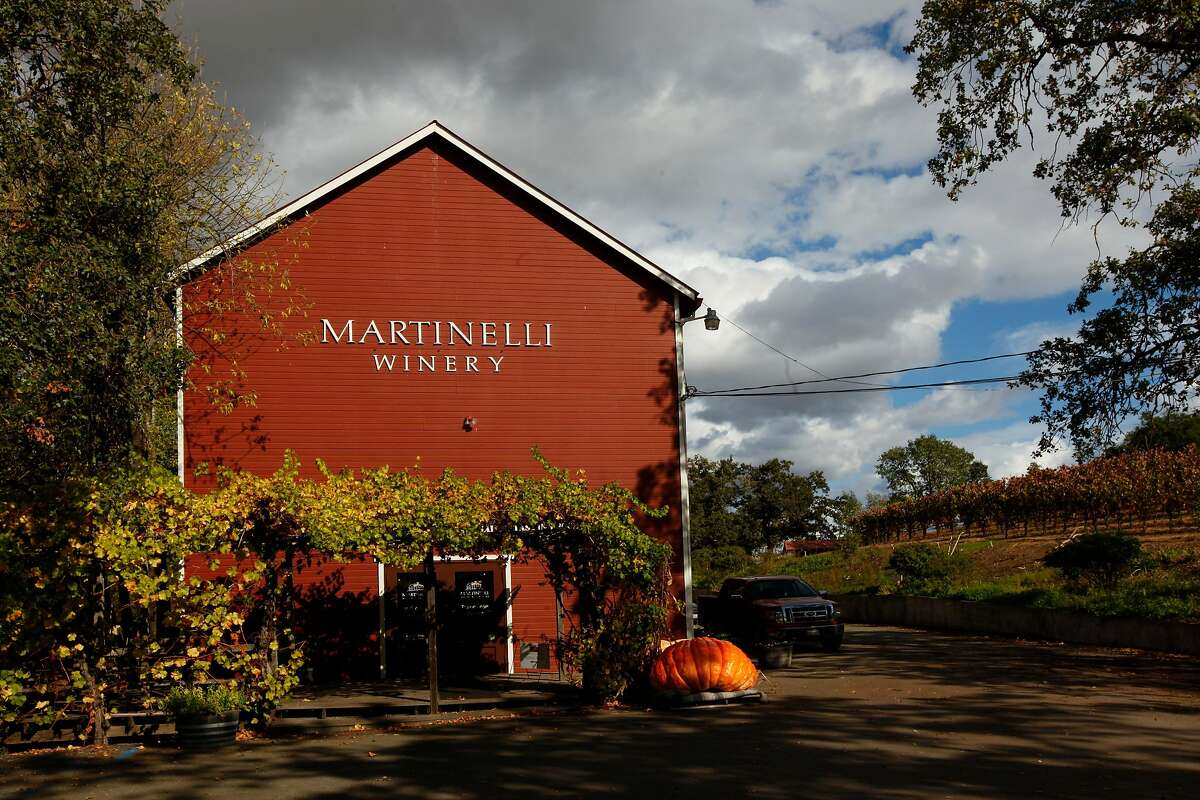 Martinelli Winery in Windsor, California on Tuesday, October 23, 2012.