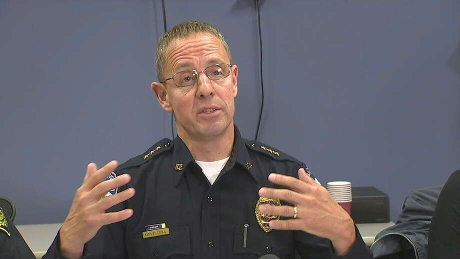 "Bellingham Police Chief David Doll describes the ""vast scope"" of the investigation. Photo: KOMO News Photo"