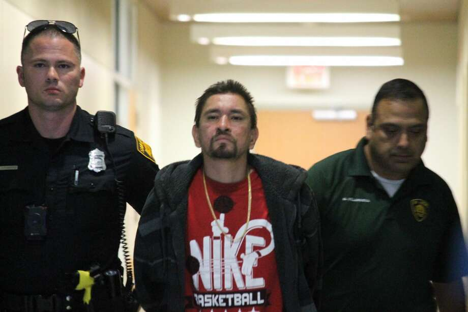 Jose Alberto Garcia, 38, is charged with four counts of aggravated assault causing serious bodily injury. Photo: Fares Sabawi/San Antonio Express-News