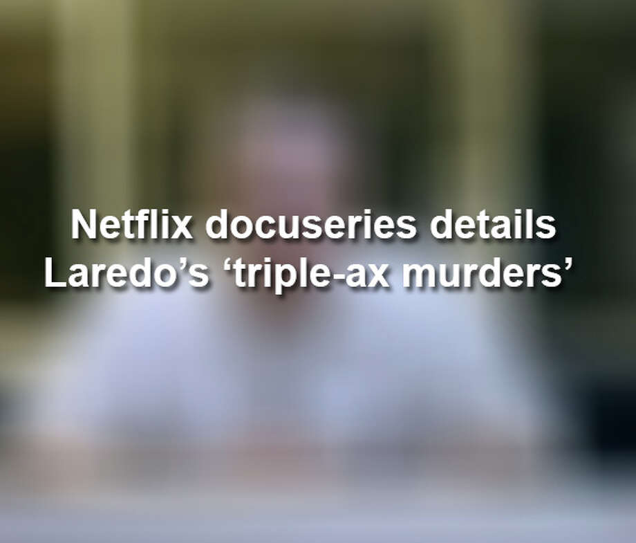 Keep scrolling to see scenes from a Netflix true crime docuseries that dedicated an episode to a gruesome triple homicide in Laredo.  Photo: Netflix/Courtesy