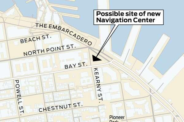 Sf Considering Homeless Navigation Center Near Wharf North Beach