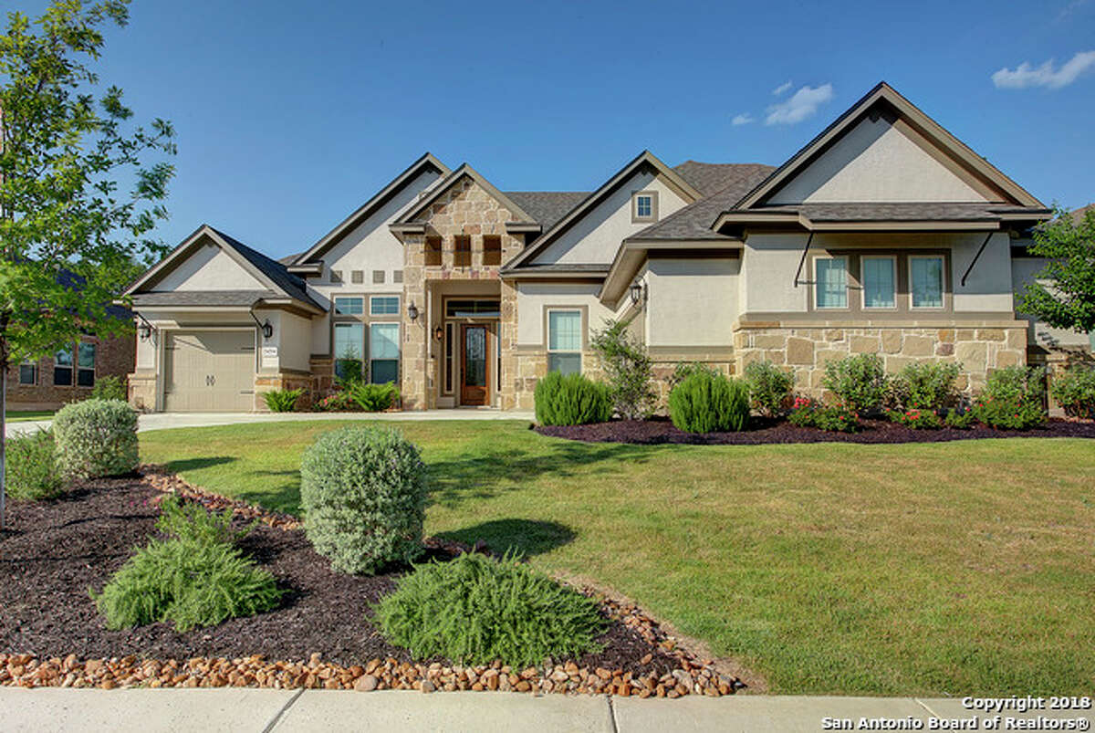 This home at 24214 Mateo Ridge in San Antonio is asking $597,000. The 3,836-square-foot home has 4 bedrooms and 5.5 bathrooms. Learn more about the property at: www.har.com
