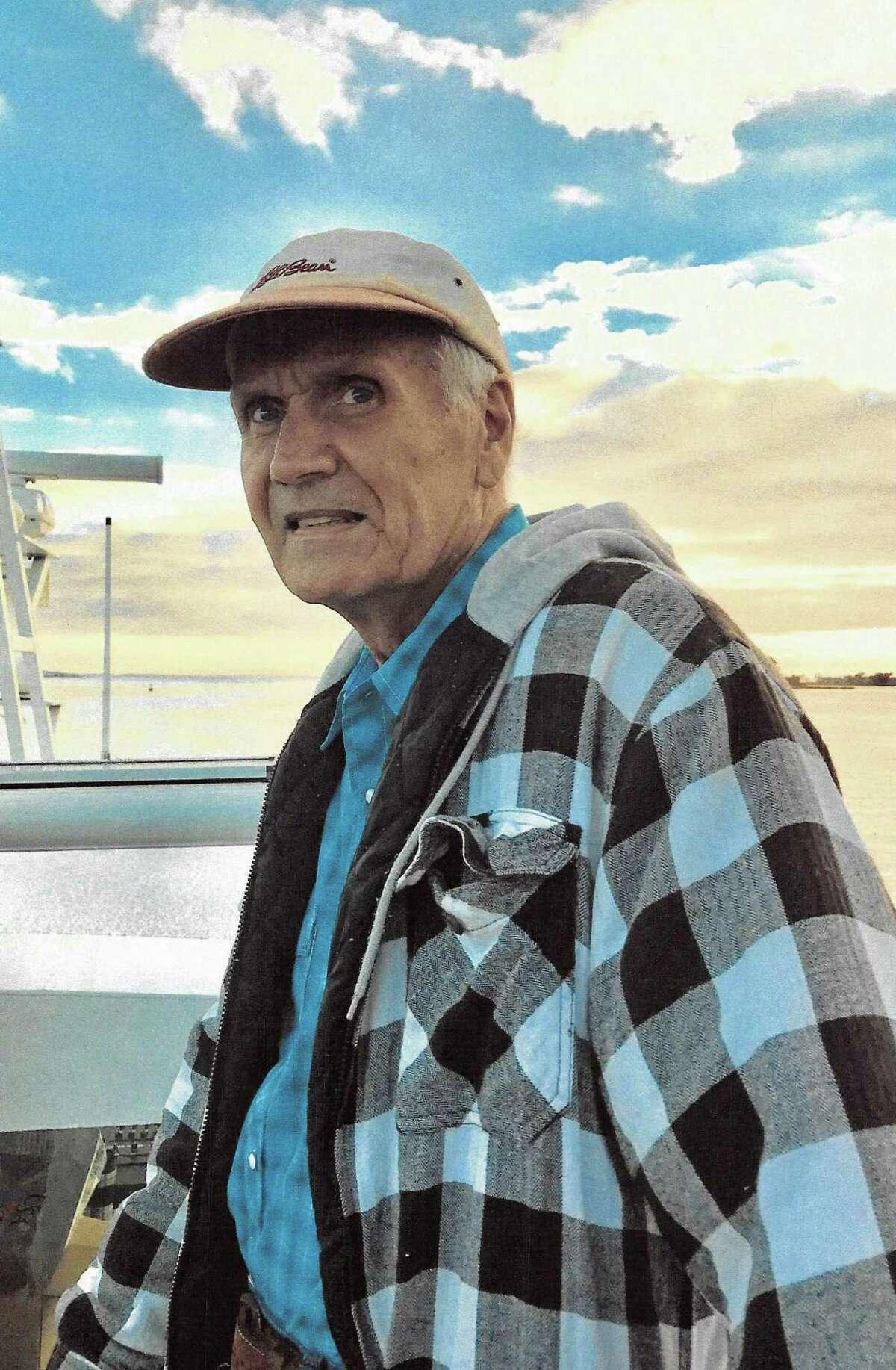 Norwalk resident, store owner and volunteer Casey Onaitis on the Long Island Sound. Onaitis died Sept. 10, 2018.