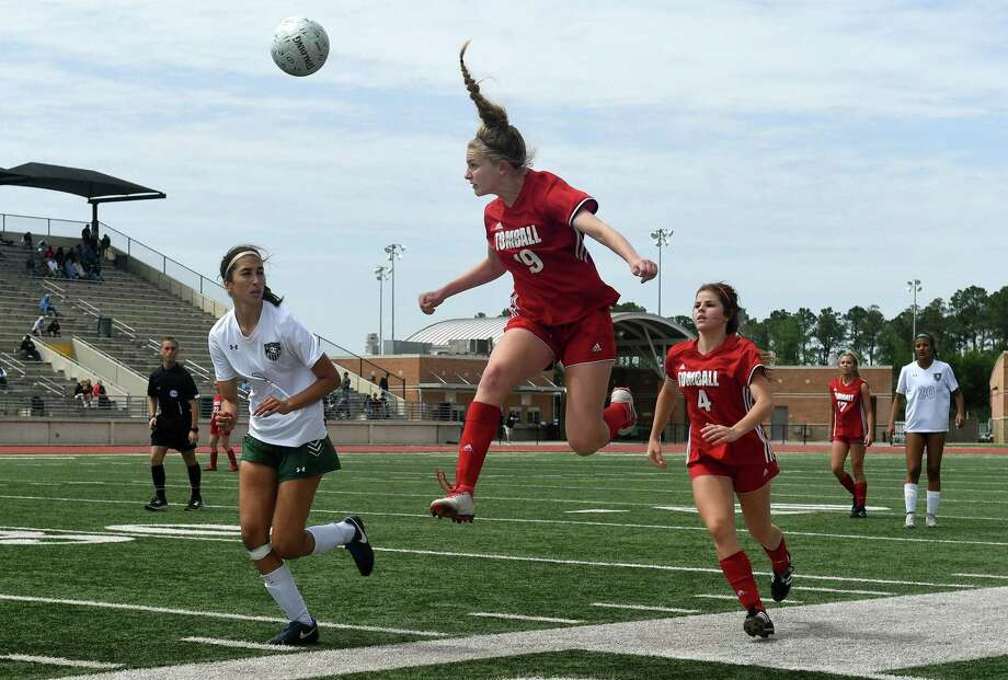 Tomball's Jessica Martorelli (19) was named 2018-19 District 20-5A Offensive Player of the Year. Photo: Jerry Baker, Freelance / For The Chronicle / Freelance