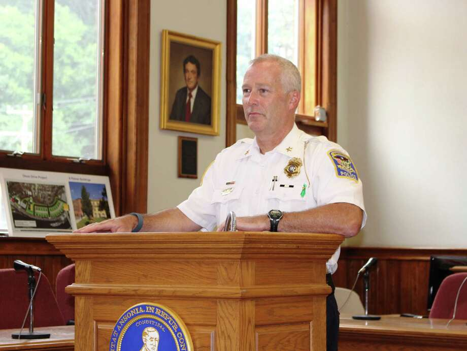 Ansonia police Chief Kevin Hale Photo: Jean Falbo-Sosnovich / Hearst Connecticut Media File