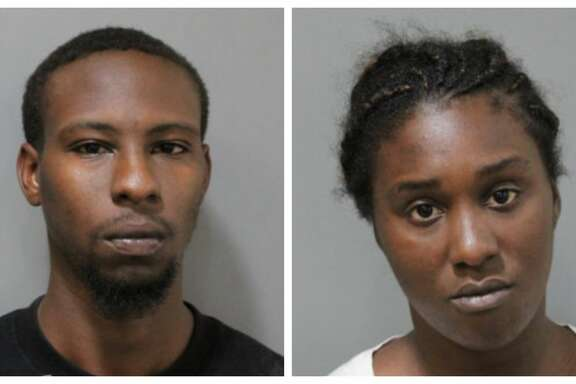 Deputies with the Harris County Precinct 1 Constable's Office arrested Terrell Trayham, 24, and Stephanie Jones, 25, on Wednesday after someone called 911 reporting a suspicious vehicle in the 800 block of West 41st Street.