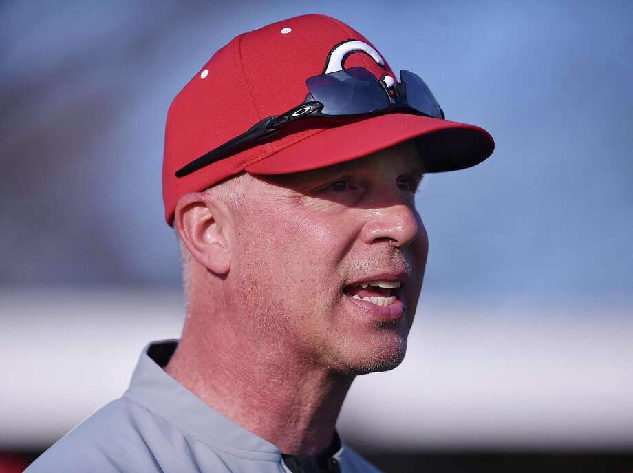 Bill Mrowka has retired as the Cheshire baseball coach after 21 seasons with the team. Photo: Catherine Avalone / Hearst Connecticut Media / New Haven Register