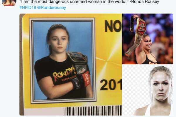 North Farmington High School in Michigan allows seniors to dress up as pop culture icons for their student ID photos. This year, several students from the Detroit suburb shared their IDs and inspirations on Twitter and quickly went viral.