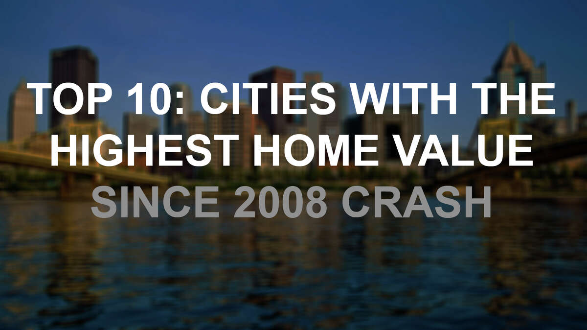 Median home property values have increased by over 27 percent since the 2008 crash, just a decade ago Sept. 15. Click through to see the top 10 increases in median value since the notorious financial crash.