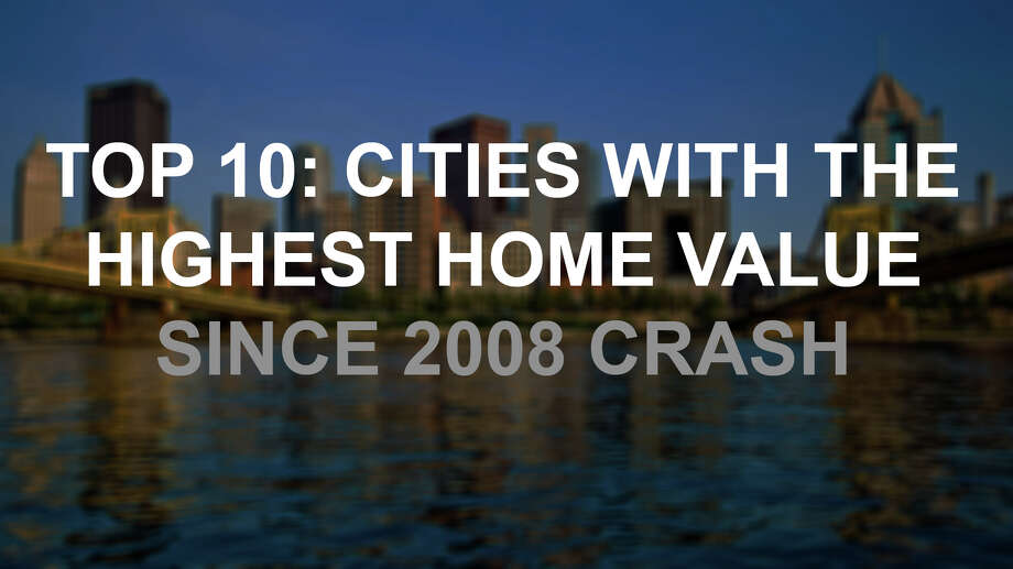 Median home property values have increased by over 27 percent since the 2008 crash, just a decade ago Sept. 15. Click through to see the top 10 increases in median value since the notorious financial crash. Photo: Getty Images / © 2013 J. Altdorfer Photography