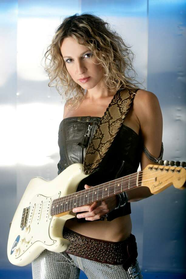 Ana Popovic, Serbia's greatest gift to the blues, returns to Fairfield Theatre Company's StageOne. Photo: Contributed
