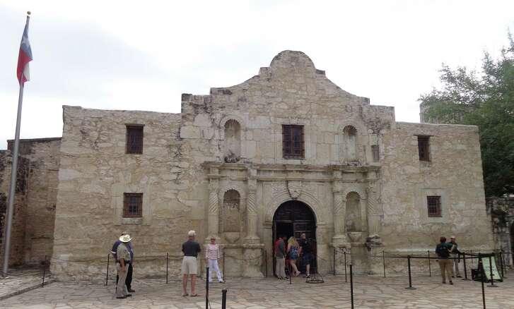 The Alamo in downtown San Antonio.