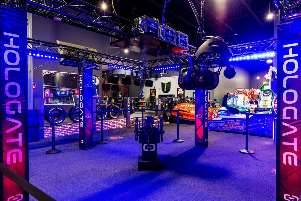 iRACE24984 Katy Ranch Road, KatyThe 60,000-square-foot entertainment center has a two-level indoor race track, virtual reality games, NASCAR simulators, bowling and arcade games that will keep the kids busy all summer.