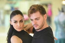 Giorgi Khmiadashvili and Nelly Mustafayeva, photographed Aug. 28, 2018, at the Ballroom Dance Studio. James Durbin/Reporter-Telegram
