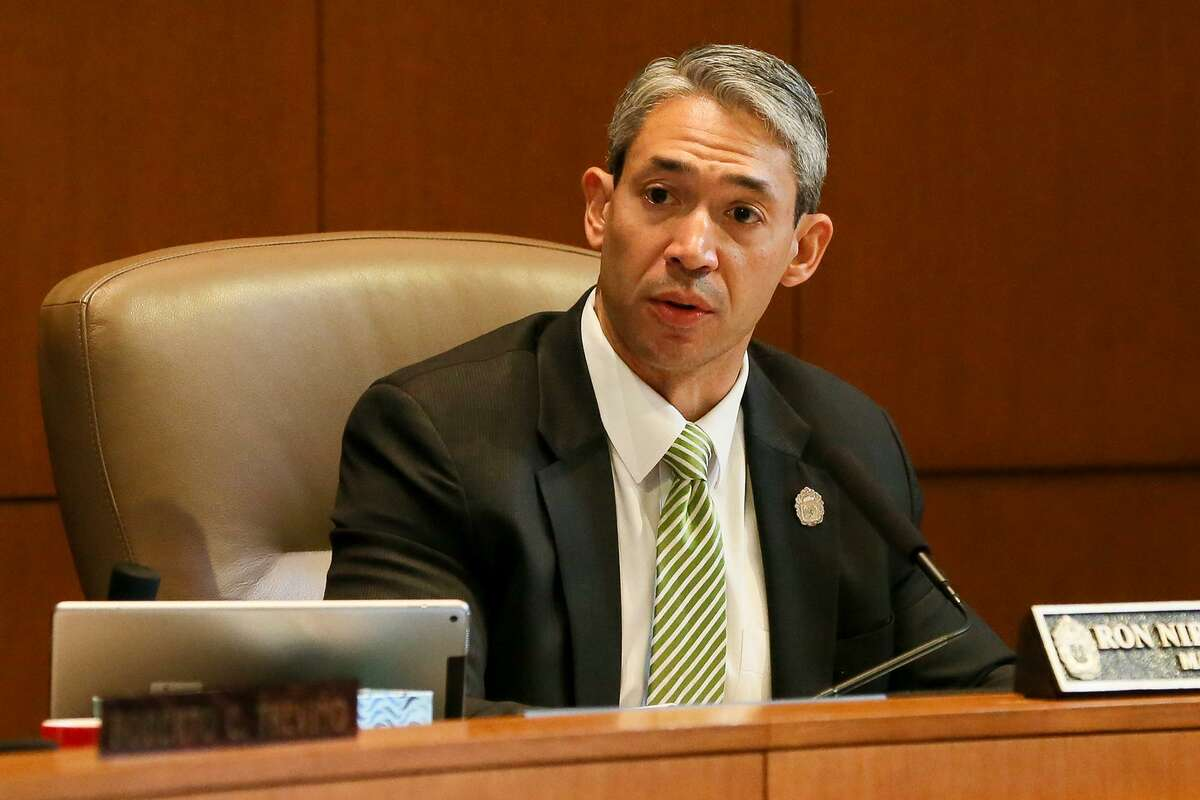 San Antonio Mayor Ron Nirenberg, seen on Sept. 13, 2018, will be a panelist at a town hall discussion Thursday on three proposed City Charter amendments.