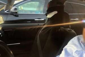 """A driver in Contra Costa County was pulled over after using a """"Venom"""" dummy in the carpool lane."""