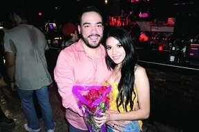 Alejandro De Hoyos and Alondra Ortiz at Taboo Night Club Friday, September 14, 2018