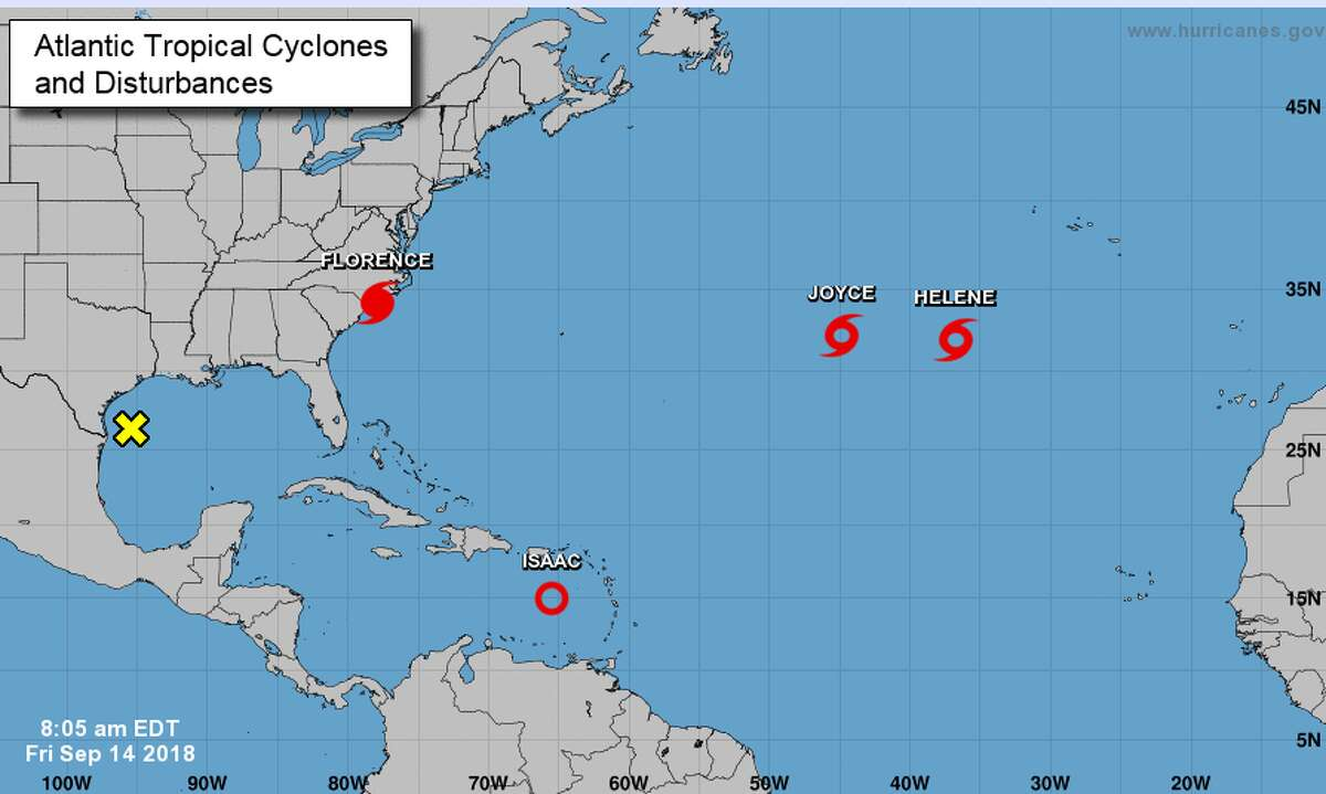 PHOTOS: Tracking Invest 95L as it moves toward the Gulf Forecasters now predict a 20 percent chance of the storm in the Gulf becoming a tropical system in the next 48 hours. >>> See how the storm progressed earlier in the week