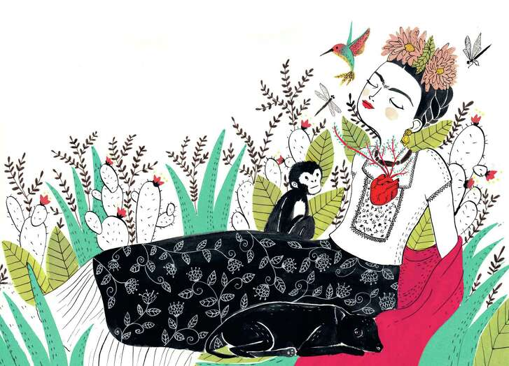 "Maria Hesse wrote and illustrated ""Frida Kahlo: An Illustrated Life."""