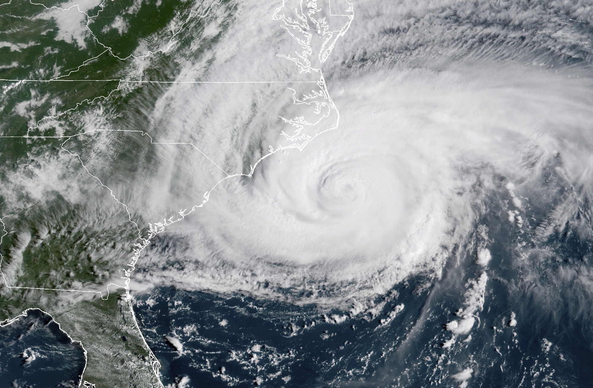 images from hurricane florence - HD 2000×1310